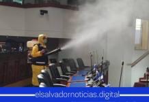 Asamblea Legislativa es desinfectada tras tener casos positivos de COVID-19 en su personal