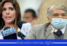 Milena reitera que al único que se le debe quitar el fuero es a Norman Quijano por negociar con pandillas