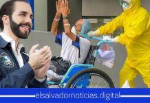 Gobierno anuncia la bendiciosa recuperación de 2 salvadoreños con Coronavirus que estaban en UCI