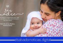 Primera Dama Gabriela de Bukele envía lindo mensaje a todas las madrecitas salvadoreñas en su día