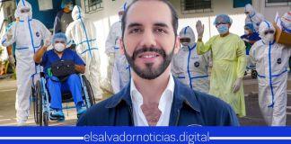 Autoridades confirman 13 salvadoreños recuperados por COVID-19 este día