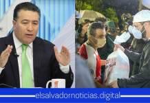 Portillo Cuadra humilla a los Salvadoreños por agarrar las bolsas de víveres y no pedir empleo