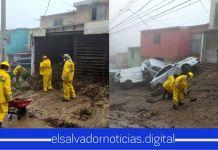 Obras Públicas continúa retirando escombros en diferentes partes del país a causa de la tormenta Amanda