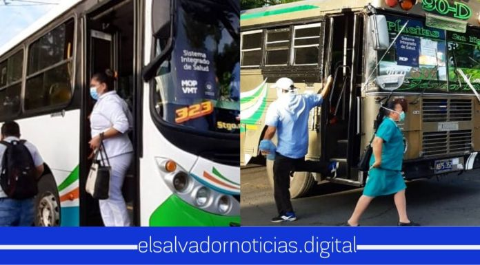 VMT sigue garantizando transporte gratuito al personal de salud que está al frente de la pandemia del COVID-19
