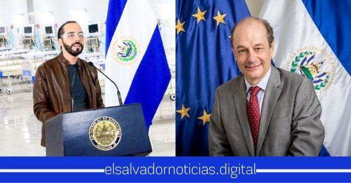 Unión Europea aplaude al Gobierno del Presidente Nayib Bukele por el nuevo Hospital El Salvador