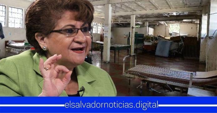 """Violeta Menjívar afirma que el FMLN ya tenían planeados varios hospitales, incluyendo uno denominado """"Monseñor Romero"""""""