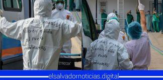 #ÚltimaHora | Médicos llegan hasta la Asamblea Legislativa y EXIGEN aprobar cuarentena de 15 días bajo un Régimen de Excepción