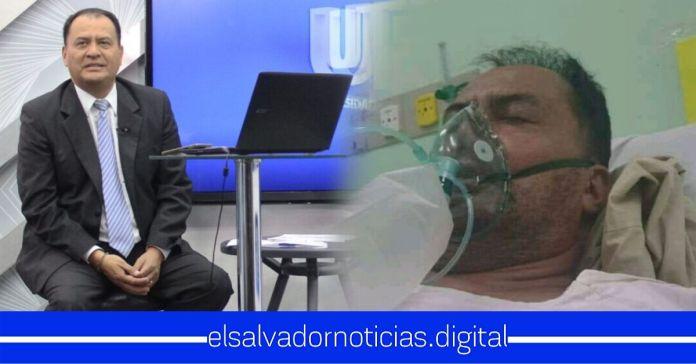 Ernesto López presentador de Grupo Megavisión se encuentra hospitalizado por COVID-19