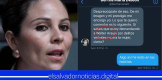 Filtran conversación en donde Bertha Deleón soborna a una jovencita para denunciar a Walter Araujo por presunta violación sexual
