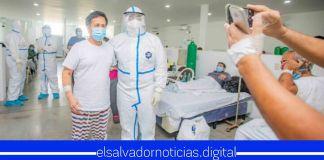Ministro Alabi compartió momentos con pacientes con COVID-19 en Hospital Jiquilisco Ministro Alabi compartió momentos con pacientes con COVID-19 en Hospital Jiquilisco