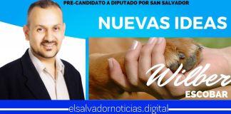 Precandidato a Diputado por San Salvador Wilber Escobar pondrá en marcha proyectos de ley en relación a la Protección y Bienestar Animal