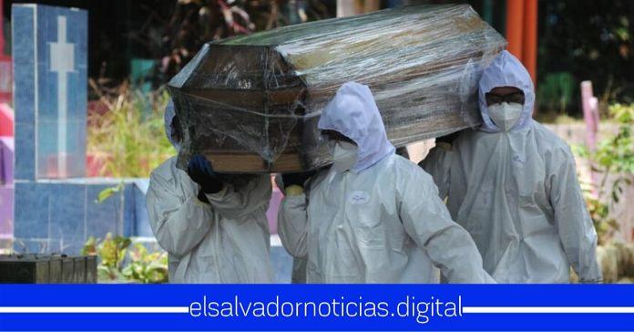 Quince salvadoreños se suman a la cifra de fallecidos por COVID-19, totalizando 324 decesos por la enfermedad