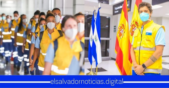 Llegan a El Salvador 28 profesionales de la salud de España a sumarse a luchar contra el COVID-19
