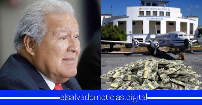 Sánchez Cerén pretendía vender terrenos del Aeropuerto de Ilopango para que junto al FMLN se apropiaran de las ganancias