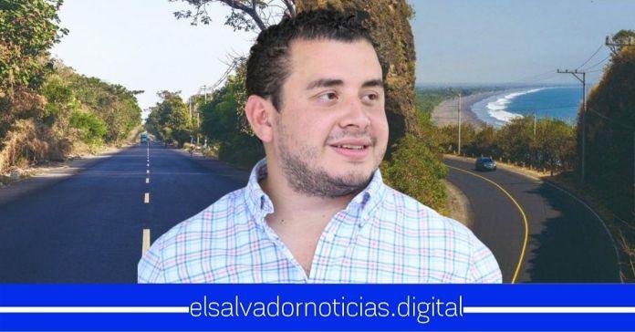 Obras Públicas finaliza rehabilitación de 18.9 km de la carretera al Litoral que conecta a Sonsonate con Santa Isabel Ishuatán