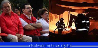 FMLN robó 25 millones de dólares que estaban destinados para «remover escoria con plomo» de exfábrica de baterías que genero infernal incendio anoche