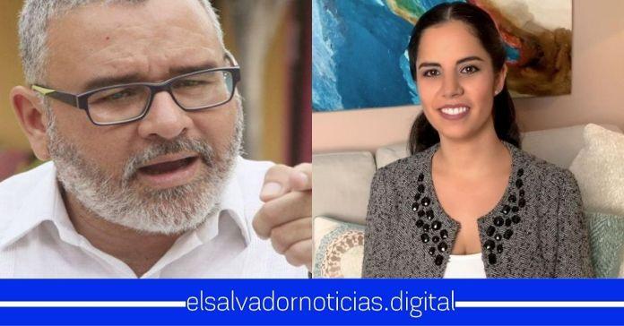 Mauricio ataca a la Primera Dama Gabriela de Bukele, criticando su manera de trabajar para el pueblo
