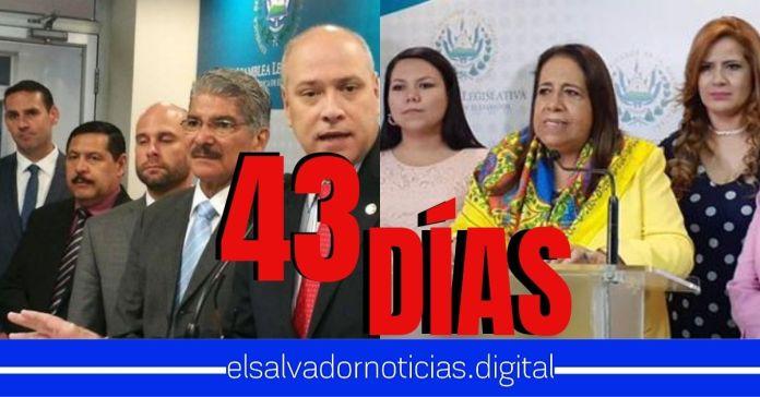 Asamblea tiene 43 días exactos en negarle a los salvadoreños una cuarentena bajo Régimen de Excepción que salvará sus vidas