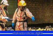 Director de Cuerpo de Bomberos confirma que hubo mano criminal en incendio de ex fábrica de baterías