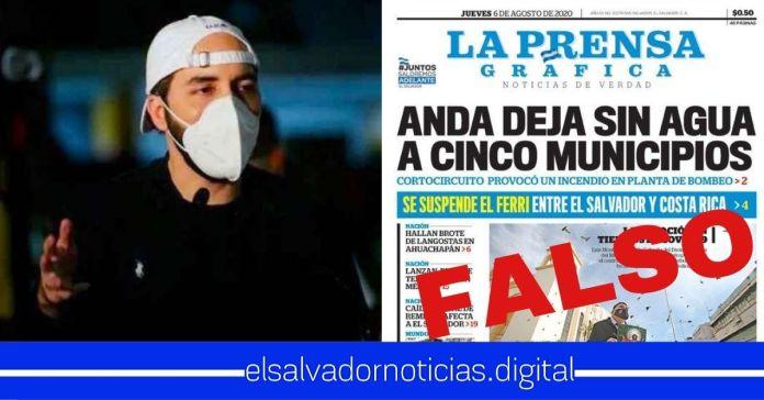Gobierno desmiente información de LPG y afirma que sí se continúa con el proceso de Ferri entre El Salvador y Costa Rica