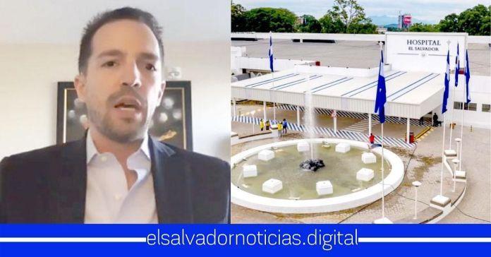 Médico arenero EXIGE demoler Hospital El Salvador y construir uno más bajero que es el que se merecen los salvadoreños
