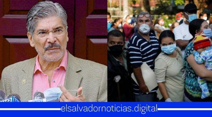 Norman Quijano EXIGE a los salvadoreños que aprendan a vivir con el Coronavirus ya que la economía no debe parar si la gente se contagia o muere