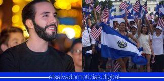 Salvadoreños en el exterior orgullosos de tener al mejor Presidente del mundo en su querido El Salvador