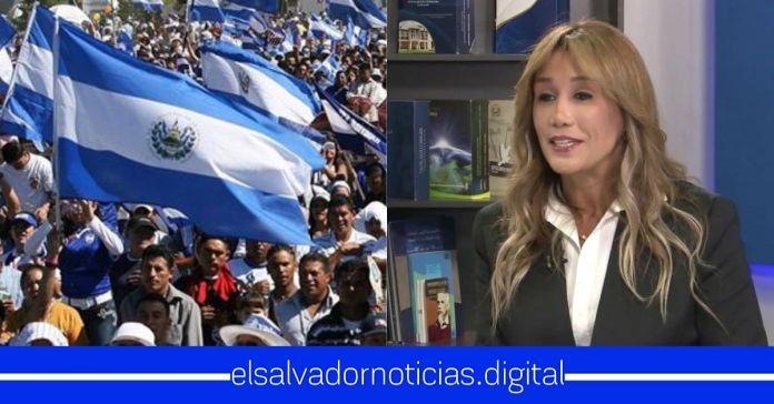 Salvadoreños impondrán demanda contra Claudia de Ávila por haber llamado «PERROS» al 97% de la población