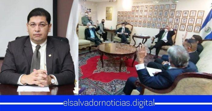 Diputados de ARENA y FMLN eligen a magistrado que le filtraba información a Rodolfo Parker como presidente de la Corte de Cuentas