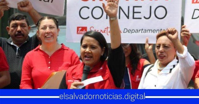 Oposición afirman que su sueño es ver a Cristina Cornejo como presidenta de El Salvador
