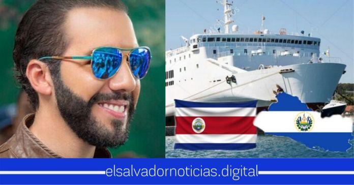 Ferry entre El Salvador y Costa Rica será proyecto clave para la recuperación económica en el periodo pospandemia