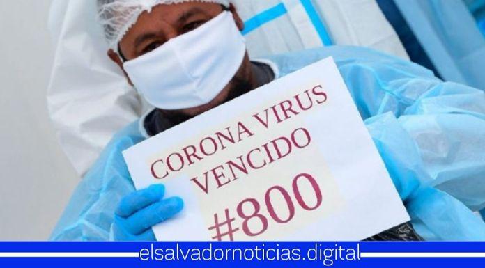Hospital El Salvador celebra 800 salvadoreños recuperados de COVID-19