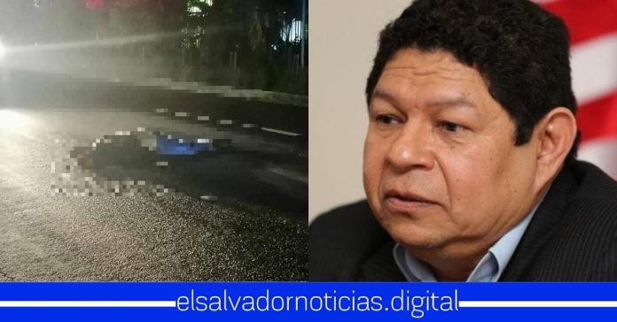 Muere atropellado hijo del exministo de Seguridad y actual asesor del FMLN, Benito Lara en un accidente automovilístico