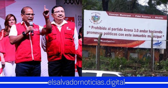 FMLN acepta que es ARENA 2.0 y niega construcción de CUBO que beneficiaría a cientos de jóvenes