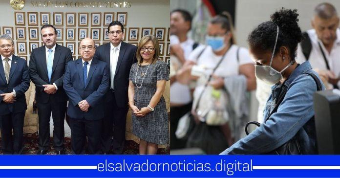 Sala declara inconstitucional pedir pruebas de COVID-19 a pasajeros que ingresen a territorio nacional