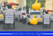 Salvadoreños siguen dejando claro lo que sienten hacia los diputados y alcaldes