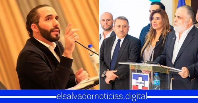 ARENA interpone aviso contra el Presidente Bukele por solicitar prueba PCR negativa a viajeros que ingresen a El Salvador