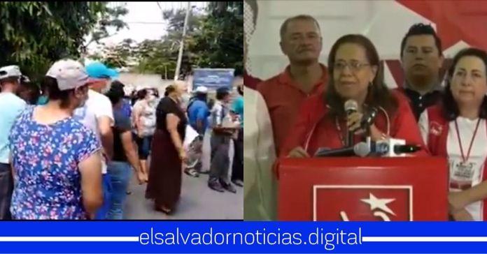 Ciudadanos de Santa Eduviges en Soyapango sacan a patadas a diputados del FMLN que pretendían hacer campaña políticaCiudadanos de Santa Eduviges en Soyapango sacan a patadas a diputados del FMLN que pretendían hacer campaña política