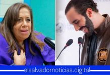Nidia Díaz le suplica a Bukele que «por favor» le regrese su jugoso salario