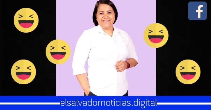 Salvadoreños se organizan para dar «me divierte» a foto de Cristina Cornejo, sobrepasando las 200mil interacciones
