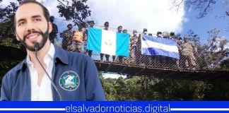 Fuerza Armada de El Salvador junto al Ejército de Guatemala, ejecutan patrullajes binacionales fortaleciendo la seguridad de ambas naciones