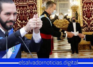 Embajador de El Salvador se reúne con Rey de España para fortalecer relaciones con el Gobierno del Presidente Bukele