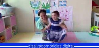 Familia Presidencial comparte video de Layla bailando canción típica de El Salvador para cerrar el mes cívico