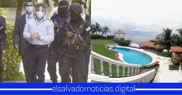 FGR incauta 8 mansiones millonarias de Munguía Payés y sus familiares