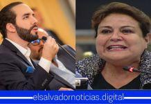 Margarita Escobar grita y exige al Presidente Bukele que deje de hostigar a la gente
