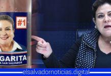 """Margarita Escobar afirma que pegarle su cara y poner el número de su casilla en alcohol gel """"NO ES HACER CAMPAÑA ADELANTADA"""""""