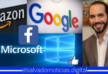 Amazon, Facebook, Google y Microsoft destacan avances en inclusión digital en El Salvador