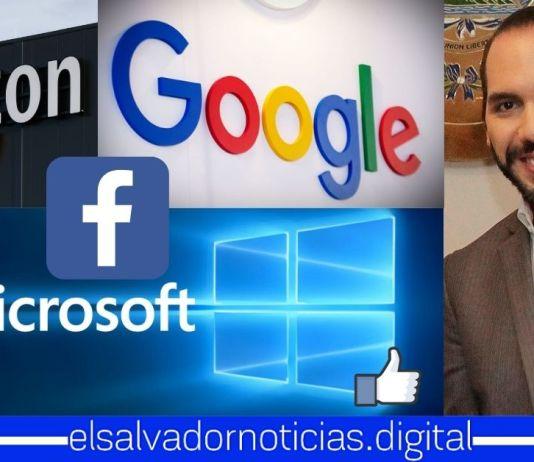 Amazon, Facebook, Google y Microsoft destacan avances en inclusión digital en El Salvador