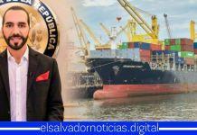 El Salvador recibe nuevo buque con más de 114 toneladas métricas de alimentos para las familias salvadoreñas