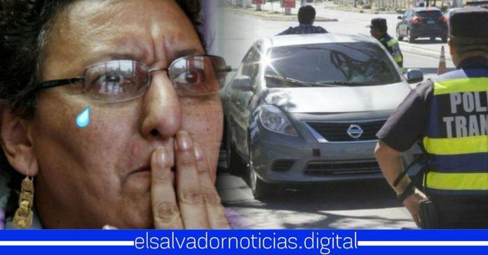 Detienen a Lorena Peña en retén policial por presunto cargamento de armas, afirmando que es culpa de la